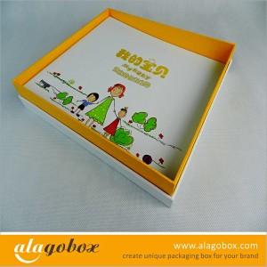 box gift as kids album set