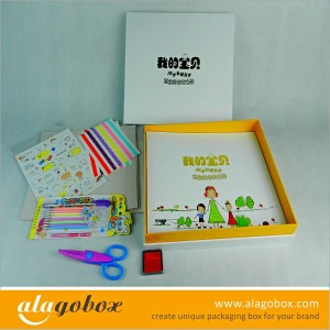 gift boxes for baby album set
