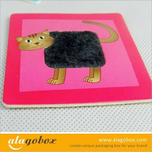paper toys with fur