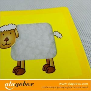 infant education paper toys