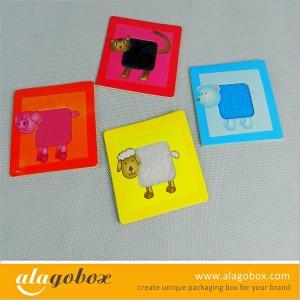 preschool education paper toys
