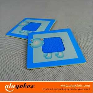 preschool paper toy for touching