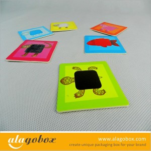 multiple material paper toys
