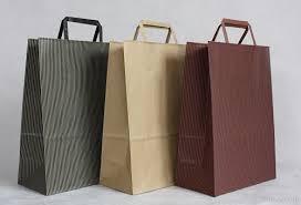 paper bag for apparel