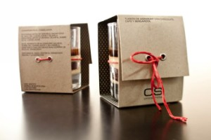 corrugated paper box packaging for cup