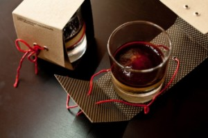 cup packaging with corrugated paper