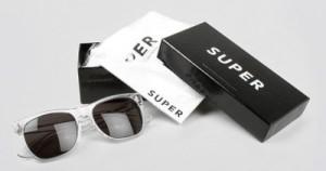 black eye glasses box