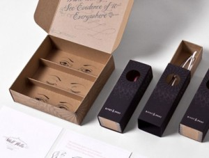 3 pieces eye glasses package with individual box