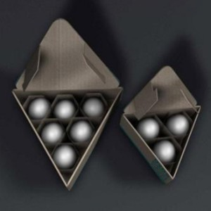 triangle eggs box for various quantity