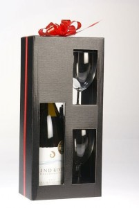 Custom Wine Boxes With cardboard Divider
