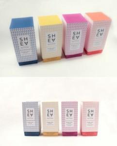 custom shape cardboard packaging for skin care product