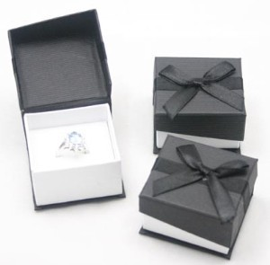 joint paper box for ring