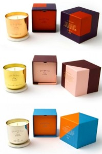 candle box with different colors