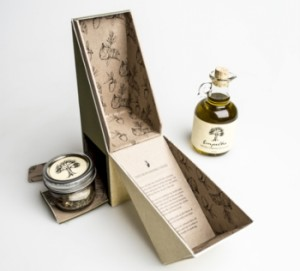 collection box for olive oil