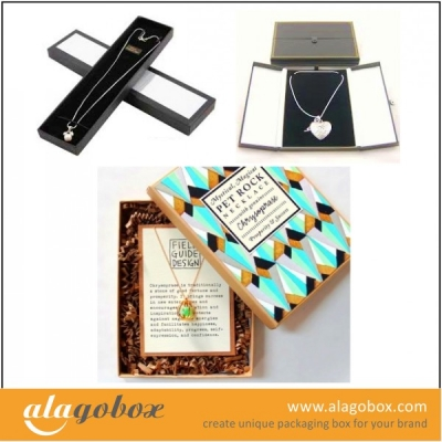 necklace box collection