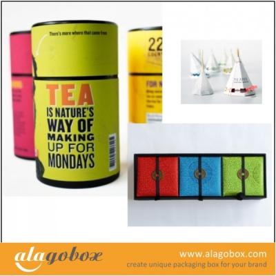 tea boxes collection