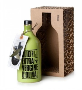 corrugated paper protection for olive