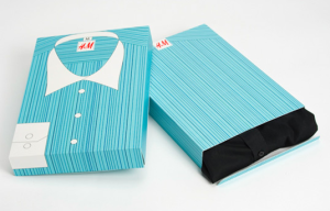corrugated paper shirt packaging