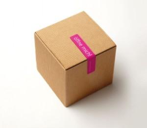 corrugated paper skin care packaging