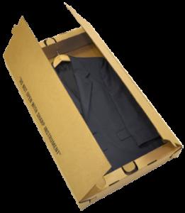 corrugated suitbox