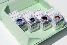 green foldable nail polish box