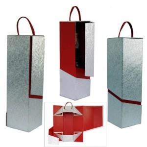 foldable wine boxes unique design