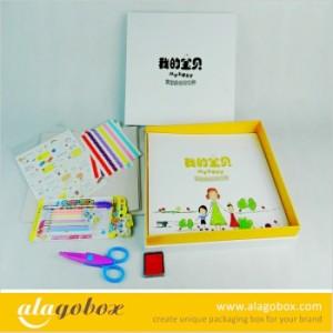 kid photo album packaging set