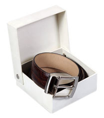 men belt gift box