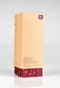 natural paper tea box