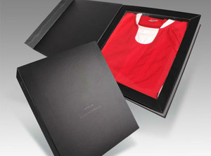 shirt packaging with window