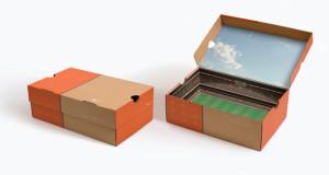 shoe box as joint paper box