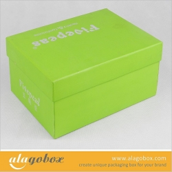 shoe box with lift lid