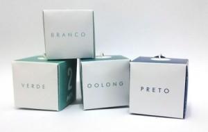 individual tea bag and box