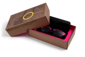 top and bottom box for sunglasses
