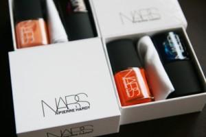 2 piece nail polish box packaging