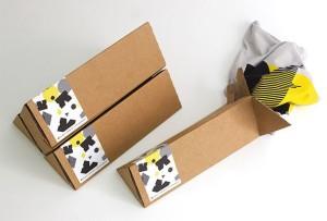 triangle shirt packaging