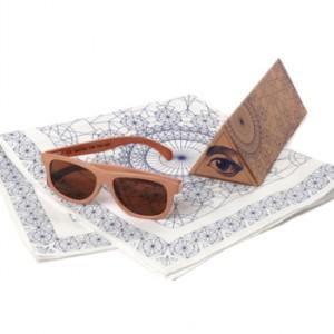 triangle sunglasses craft box