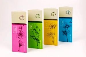 triangle tea box