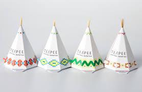 unique design for tea box
