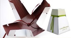 unique cardboard green tea box