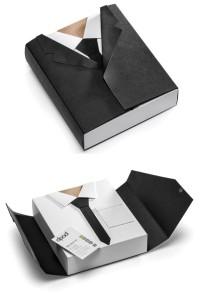 unique shirt packaging
