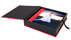 wedding album joint paper box