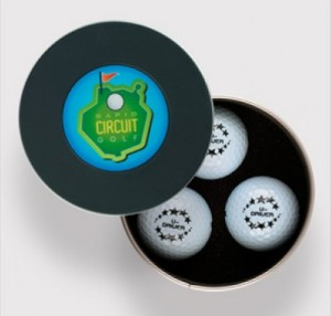round golf ball box