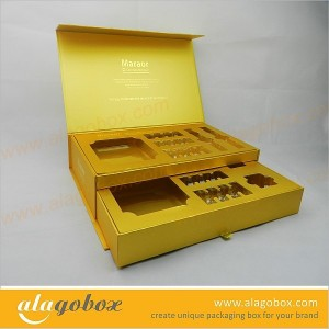 cosmetic product slide open boxes