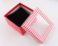 watch box with window