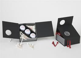 3 pieces golf balls packaging