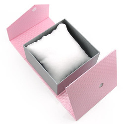 book style watch box with 2 wings and magnet