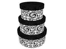 multiple size hat boxes