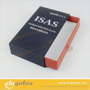 paper sliding gift box for safety assist system