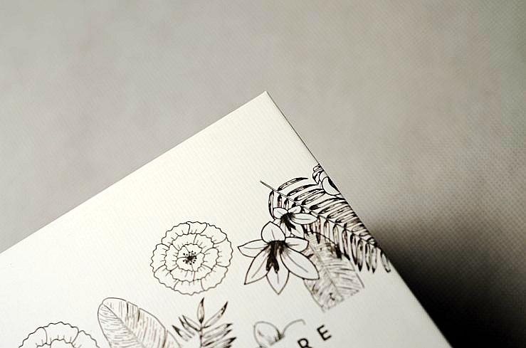 embossed line paper for reed diffuser rigid box